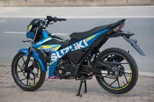 Cận cảnh xe côn tay Suzuki giá giá 66,5 triệu tại Việt Nam