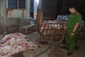 Lợn bệnh vẫn mua gom, giết mổ bán cho công nhân