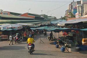 Nhiều chợ ở Đồng Tháp tiềm ẩn nguy cơ mất an toàn giao thông