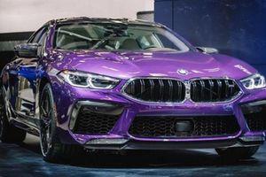 'Soi' BMW M8 Gran Coupe khoác áo tím hoàng hôn cực độc
