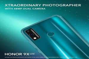 Honor 9X Lite lộ diện hoàn toàn trước thời điểm ra mắt