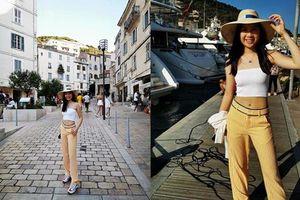 Con gái Chân Tử Đan sở hữu vóc dáng như người mẫu ở tuổi 15
