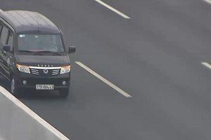 Phạt 17 triệu đồng tài xế ô tô chạy ngược chiều trên cao tốc Hà Nội - Hải Phòng