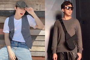 Sơn Tùng diện đồ như trai châu Âu, Trấn Thành đeo túi Dior 2.700 USD