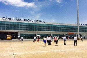 Nâng công suất các sân bay Cà Mau, Tuy Hòa