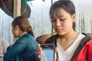 Giám sát tọa độ tàu cá bằng điện thoại thông minh