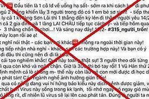 Thiếu nữ Hà Nội thừa nhận tung 'tin vịt' hơn 300 người trốn khỏi vùng dịch corona