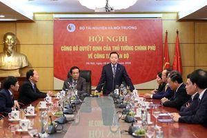 Bổ nhiệm và tái bổ nhiệm Thứ trưởng Bộ Tài nguyên và Môi trường