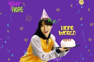 Hashtag mừng sinh nhật J-Hope (BTS) chiếm 9/10 spotlight trending Twitter : Chàng trai hạnh phúc nhất hôm nay!