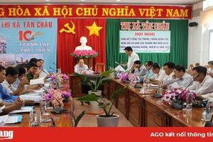 Tân Châu: Ban Chỉ đạo 389 đưa ra nhiều giải pháp chống buôn lậu hiệu quả