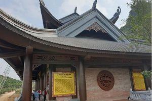 Vợ đại gia Xuân Trường được thờ ở điện Tứ Ân - Chùa Tam Chúc có phù hợp?