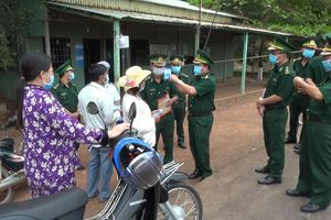 Tiếp tục đẩy mạnh công tác phòng, chống dịch Covid-19 trên tuyến biên giới Tây Ninh