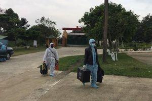 Quảng Bình cách ly phòng dịch Covid-19 cho 2 thuyền viên trở về từ Trung Quốc