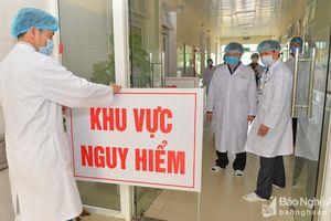 Kết quả xét nghiệm Corona tài xế và phụ xe chở khách từ Vĩnh Phúc về Nghệ An bị sốt