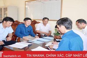 4 đảng bộ ở Hà Tĩnh gấp rút chuẩn bị đại hội điểm cấp cơ sở