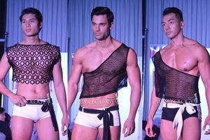 Dàn mỹ nam 'Manhunt International' 2020 diện áo crop- top, quần thắt nơ khoe body vạm vỡ, đại diện Việt sáng nhất đội hình
