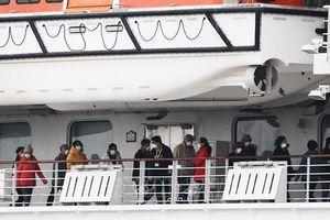 Thêm 79 ca nhiễm virus Covid 19 trên du thuyền Diamond Princess