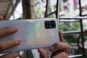 Chụp ảnh xóa phông bằng camera của Samsung Galaxy A71
