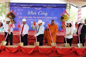 Khởi công xây dựng khu văn hóa Giếng Tiên tỉnh Sóc Trăng