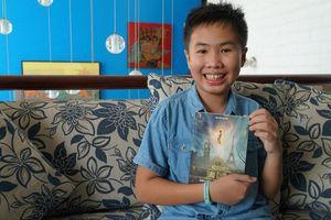 Cậu bé Việt 12 tuổi ra tiểu thuyết giả tưởng