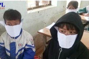 Kỷ luật cán bộ đăng ảnh học sinh đeo khẩu trang bằng giấy lên Facebook