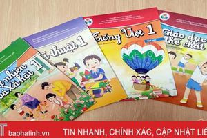 Các trường học Hà Tĩnh gấp rút nghiên cứu, lựa chọn SGK chương trình giáo dục phổ thông mới