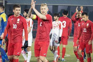 Kyrgyzstan, đối thủ giao hữu sắp tới của Việt Nam mạnh thế nào?