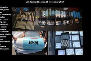 Mỹ công bố chi tiết tên lửa tịch thu được ở Yemen