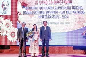 Tiến sĩ Bùi Bích Hạnh được bổ nhiệm Phó Hiệu trưởng Trường Đại học Sư phạm Đà Nẵng