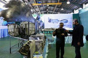 Iran trưng bày 'những gì còn lại' của UAV Mỹ bị nước này bắn hạ