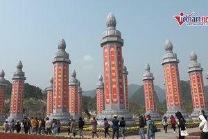 32 cột kinh Phật bằng đá khổng lồ độc nhất vô nhị ở Việt Nam