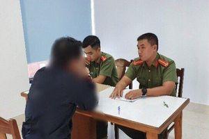 Công an TP Đà Nẵng làm việc với quản trị viên trang facebook chuyên 'báo chốt' kiểm tra nồng độ cồn