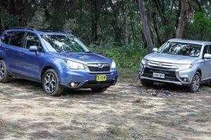Tầm giá 1 tỷ đồng, chọn Mitsubishi Outlander hay Subaru Forester?