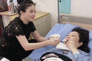 Đột ngột rời phim trường, Thanh Hằng nhập viện mổ khớp xương chậu