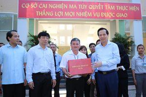 Bộ trưởng Đào Ngọc Dung: Cai nghiện ma túy quan trọng là chặn đứt nguồn cung