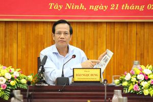 Bộ trưởng Đào Ngọc Dung: Hồ sơ tồn đọng NCC phải cùng nhau giải quyết dứt điểm trước 27/7 năm nay