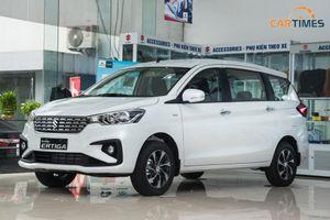 Xe đa dụng Suzuki Ertiga 2020 cập bến đại lý, thêm trang bị, giá tăng nhẹ