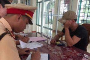 3 lái xe 9X ở Quảng Trị 'dính' ma túy, nồng độ cồn bị phạt hơn 110 triệu