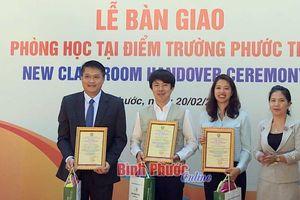 Phi chính phủ Hàn Quốc quyên góp 1 tỷ đồng giúp đỡ tỉnh Bình Phước