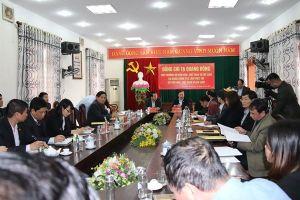 Bộ VHTTDL sẵn sàng hỗ trợ, đồng hành với Thái Nguyên trong mọi hoạt động