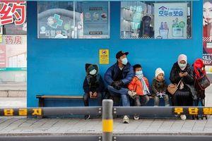Số người nhiễm virus corona tiếp tục tăng đột biến, một đêm Hàn Quốc ghi nhận thêm 142 ca
