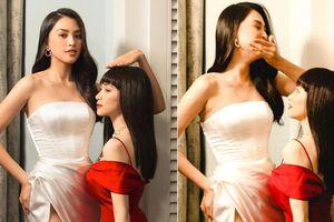 Hòa Minzy liều mình 'đọ' dáng với Hoa hậu Tiểu Vy và cái kết không thể đắng hơn