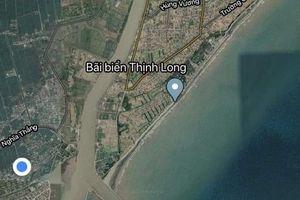 Nam Định: Tìm kiếm người phụ nữ rơi xuống biển trong lúc đánh cá