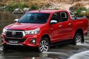 Thu hồi ô tô Toyota Hilux để khắc phục lỗi ống nhiên liệu