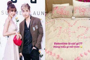 Rầm rộ ảnh giường xếp đầy hoa hồng được cho của Chi Dân và Lan Ngọc ngày Valentine: Ngọt thế này khi nào mới chịu công khai?