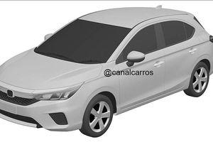 Honda City biến thể hatchback lộ diện