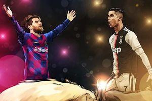 Sự trùng hợp đáng kinh ngạc về số bàn thắng của Ronaldo và Messi