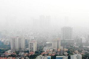 Chất lượng không khí Hà Nội ở ngưỡng rất xấu