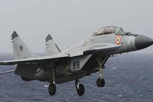 Máy bay chiến đấu MiG-29K rơi tại Ấn Độ