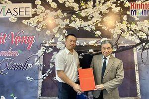 Nhà báo Phan Chí Hiếu được bổ nhiệm Phó Chủ tịch Trung ương Hội Kinh tế Môi trường Việt Nam